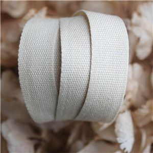 Cotton Ribbon - Ivory